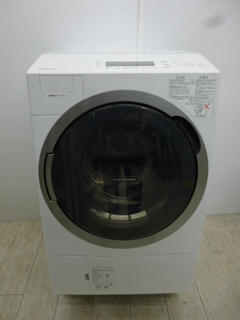 東芝ドラム式洗濯機 TW-117V6 2017年製 美品!